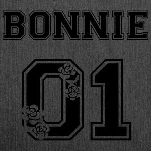 Bonnie vintage flowers T-Shirts - Schultertasche aus Recycling-Material