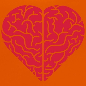 Lovely heart shaped brain Shirts - Baby T-Shirt