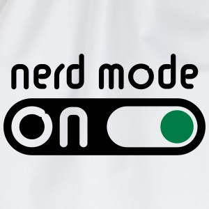 Nerd Mode On (Geek / Computer Freak) - Drawstring Bag