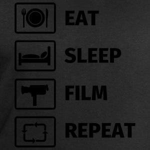 EAT SLEEP FILM REPEAT T-shirts - Sweatshirt herr från Stanley & Stella