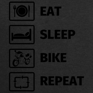 EAT SLEEP BIKE REPEAT Tazze & Accessori - Felpa da uomo di Stanley & Stella