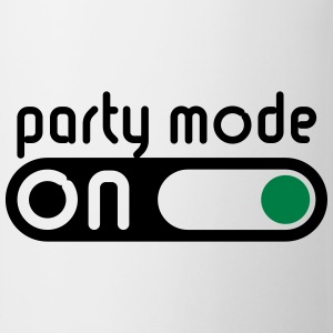 Party Mode On (Festejar / Encender Interruptor) Camisetas - Taza