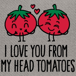 I love you from my head tomatoes Torby i plecaki - Czapka typu snapback