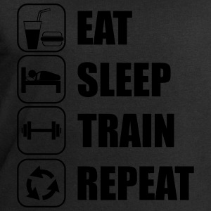 Eat,sleep,train,repeat Gym T-shirt - Sweatshirt herr från Stanley & Stella