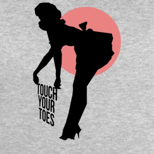 Vintage Girl - Touch Your Toes! - Men's Sweatshirt by Stanley & Stella
