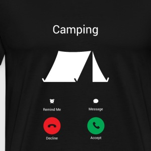 Camping Les Gets ! Sweat-shirts - T-shirt Premium Homme