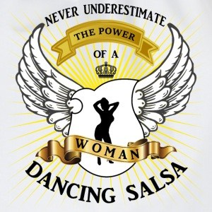 The power of a woman dancing Salsa Tops - Turnbeutel