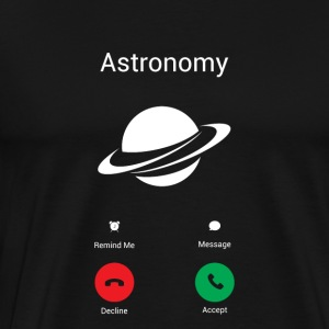 Gets the astronomy Long sleeve shirts - Men's Premium T-Shirt