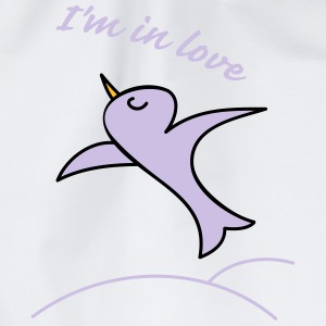 Im in love Shirts - Gymtas