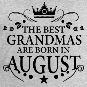 The Best Grandmas Are Born In August T-Shirts - Men's Sweatshirt by Stanley & Stella