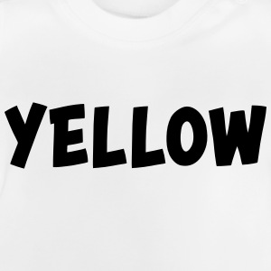 The color yellow Long Sleeve Shirts - Baby T-Shirt