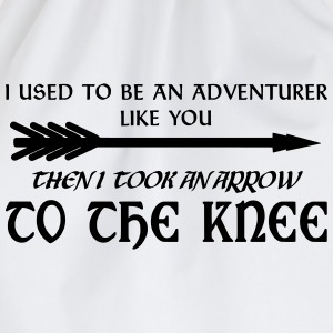 Arrow to the Knee T-Shirts - Turnbeutel