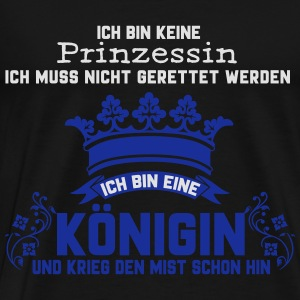 Queen Tops - Männer Premium T-Shirt