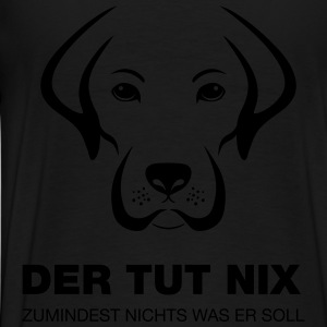 Hund - Tut nix Hoodies - Men's Premium T-Shirt