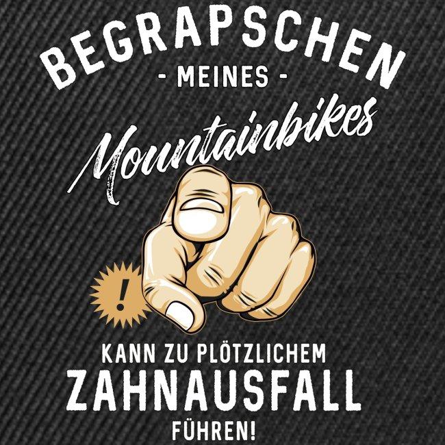 Begrapschen meines Mountainbikes - Zahnausfall - RAHMENLOS