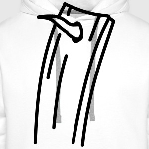 Board with nail Shirts - Men's Premium Hoodie