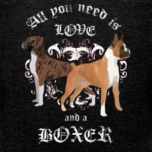 All you need is love and a boxer - Men's Premium Tank Top