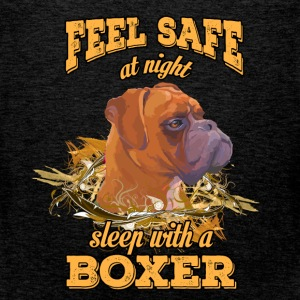 Feel safe at night. Sleep with a boxer - Men's Premium Tank Top