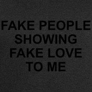 Fake people showing fake love to me Koszulki - Bluza męska Stanley & Stella