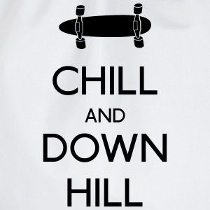 Chill and downhill Langarmshirts - Turnbeutel