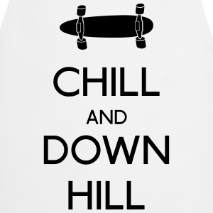Chill and downhill chill en afdaling Shirts met lange mouwen - Keukenschort