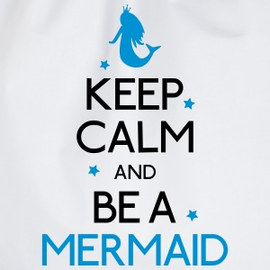 keep calm mermaid holde ro mermaid Skjorter med lange armer - Gymbag