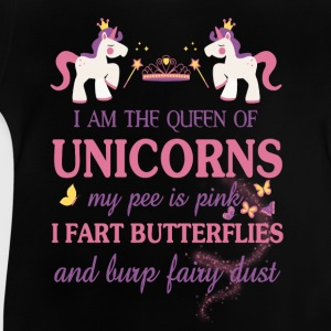 I am the Queen of the unicorns Shirts - Baby T-Shirt