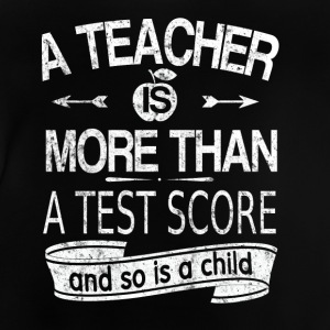 A teacher is more than a test note Long Sleeve Shirts - Baby T-Shirt