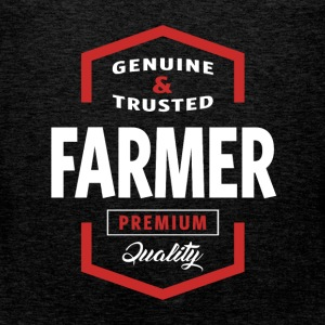 Genuine Farmer T-shirt Gift - Men's Premium Tank Top