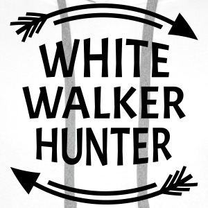 White walker hunter T-shirts - Premiumluvtröja herr
