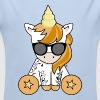 Body Licorne Hipster - Body bébé bio manches longues