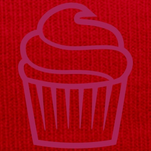 cupcake one-colored cupcake un-colorate Magliette - Cappellino invernale