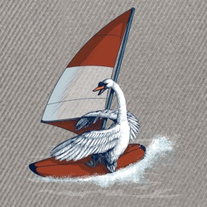 Swan T shirt Tee shirts - Casquette snapback