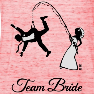 Team Bride Husband Fishing (Hen Party 2C) T-Shirts - Women's Tank Top by Bella