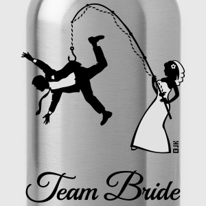 Team Bride Husband Fishing (Hen Party 2C) T-Shirts - Water Bottle