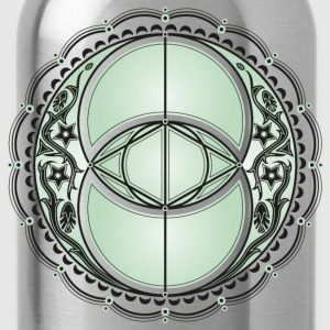 Vesica Piscis, Chalice Well, Avalon, magic, celtic T-Shirts - Water Bottle