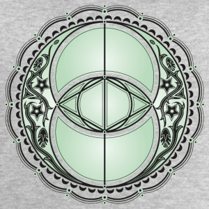 Vesica Piscis, Chalice Well, Avalon, magic, celtic Other - Men's Sweatshirt by Stanley & Stella
