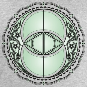 Vesica Piscis, Chalice Well, Avalon, magic, celtic T-Shirts - Men's Sweatshirt by Stanley & Stella