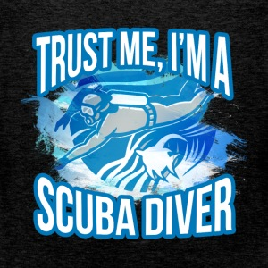 Trust me, I am a scuba diver - Men's Premium Tank Top
