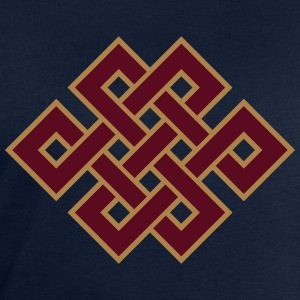 Buddhist endless knot, eternal, Tibet, celtic T-Sh - Men's Sweatshirt by Stanley & Stella