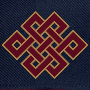 Buddhist endless knot, eternal, Tibet, celtic T-Sh - Snapback Cap