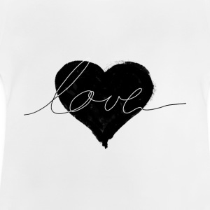 love and heart Shirts - Baby T-Shirt