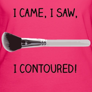 I came,I saw,I contoured. Bags & Backpacks - Women's Organic T-shirt