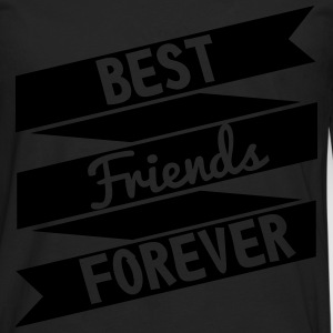 Best friends forever  - Camiseta de manga larga premium hombre