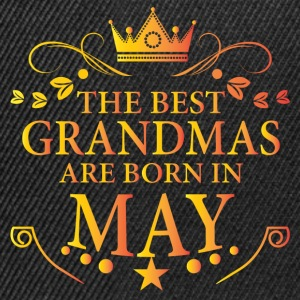 The Best Grandmas Are Born In May T-Shirts - Snapback Cap