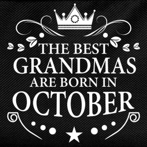 The Best Grandmas Are Born In October Hoodies & Sweatshirts - Kids' Backpack