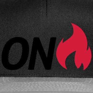 on fire T-Shirts - Snapback Cap