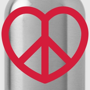 peace T-Shirts - Water Bottle