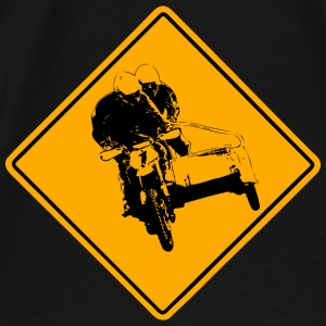 Motocross Road Sign Pullover & Hoodies - Männer Premium T-Shirt