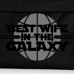 Best wife in the galaxy Camisetas - Mochila infantil